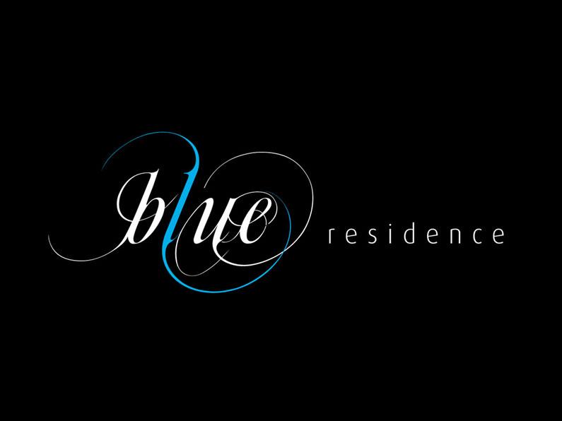 Logotipo Blue Residence
