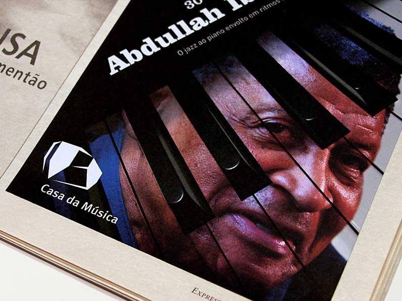 Anúncio Jornal Abdullah Ibrahim