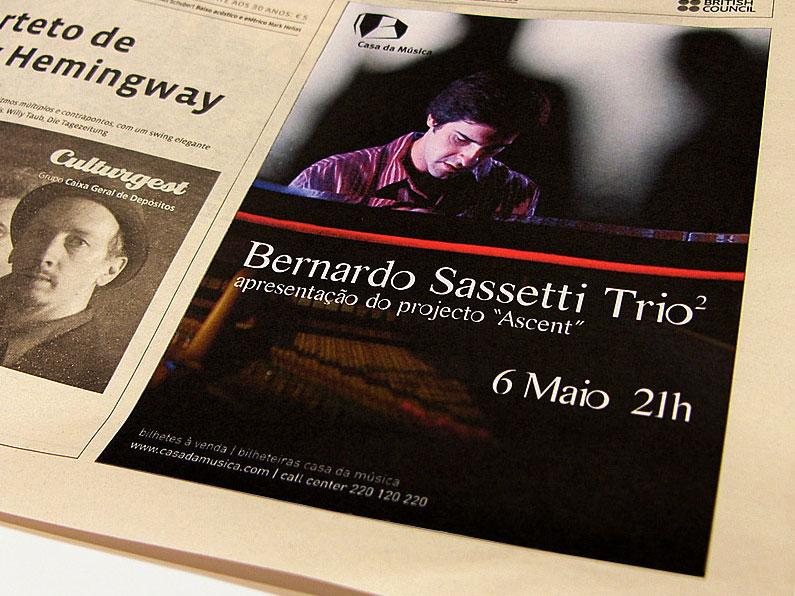 Anúncio Jornal Sassetti