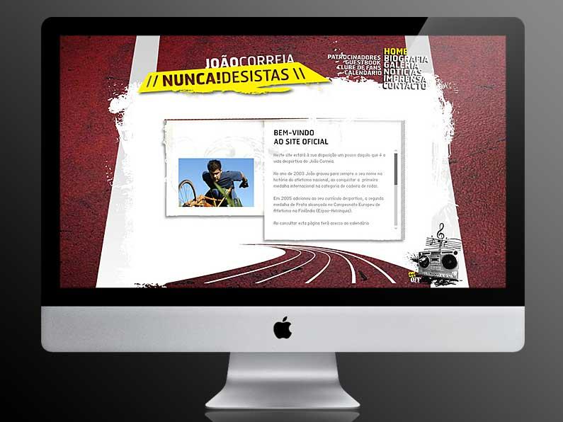 Website João Correia