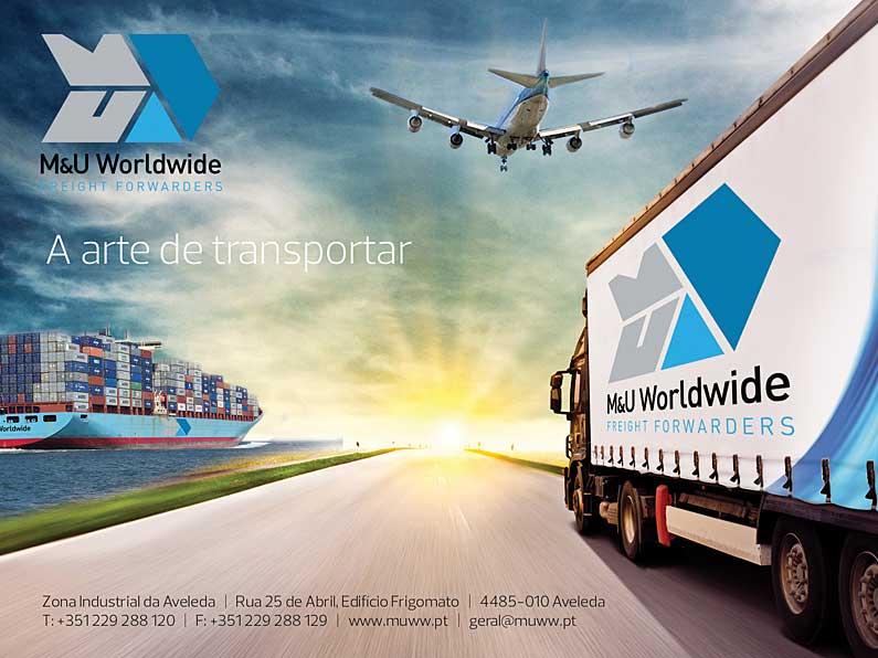Anúncio Revista Transportes M&U